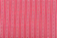 Red Small Hearts & Stripes