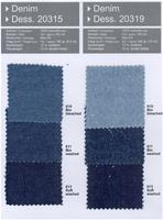 Color Card - 6,5oz Denim